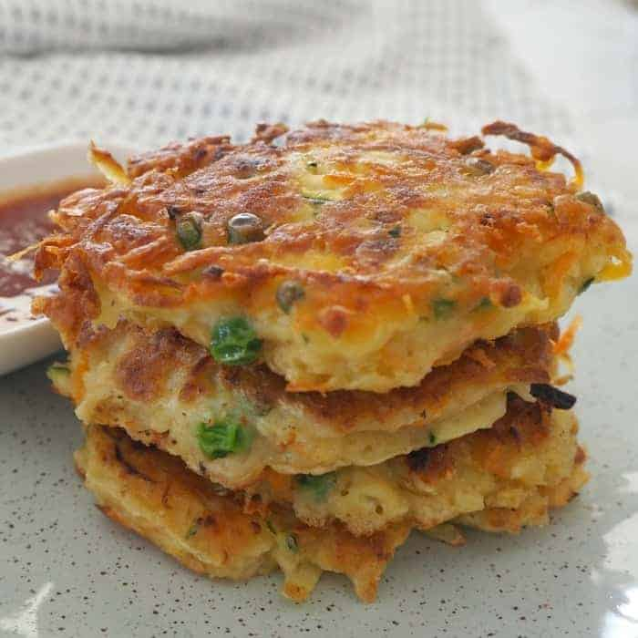 Thermomix-Vegetable-Fritters Recipe