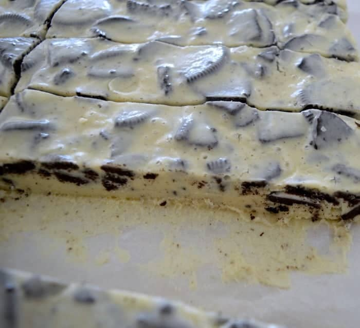 White Chocolate and Oreo Fudge 1