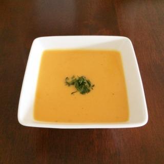 Sweet Potato, Lime & Coconut Soup