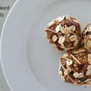 Three Ingredient Muesli Bliss Balls