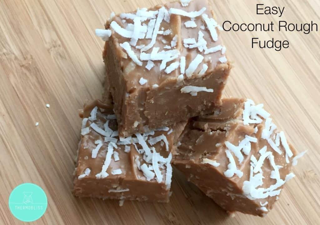 Easy Coconut Rough Fudge