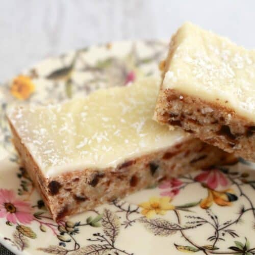 Thermomix Date and Lemon Slice