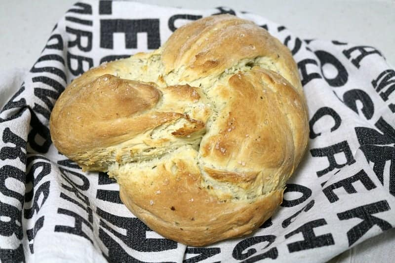 Thermomix Rosemary & Garlic Herb Loaf