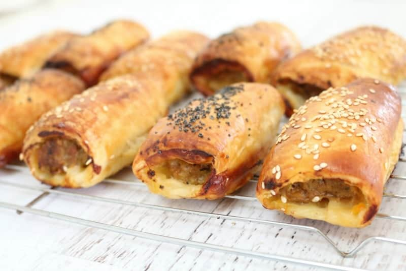 Simple Sausage Rolls Thermobliss