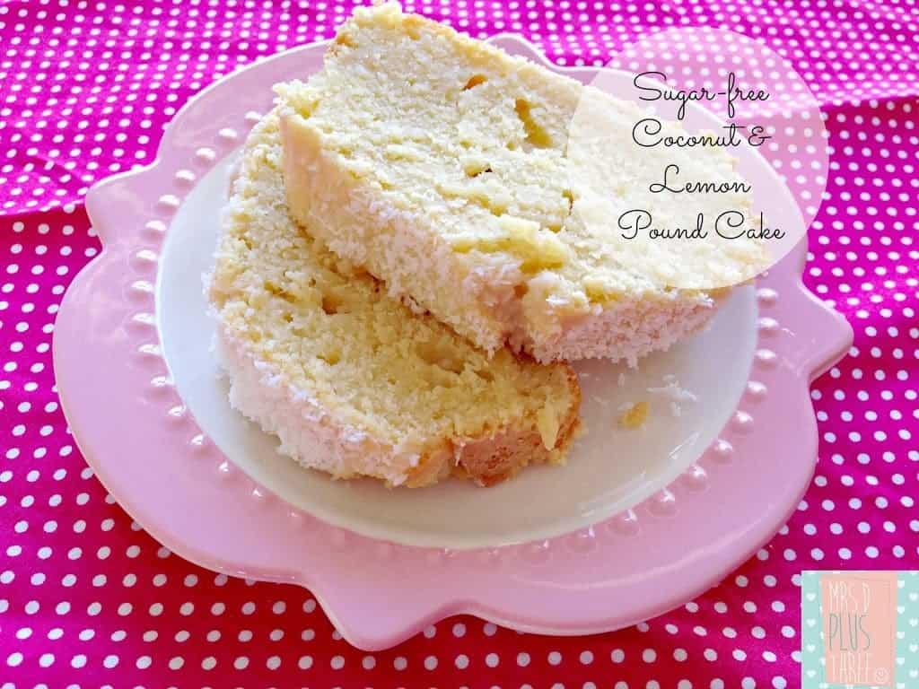 Dairy Free Lemon Cake Thermomix