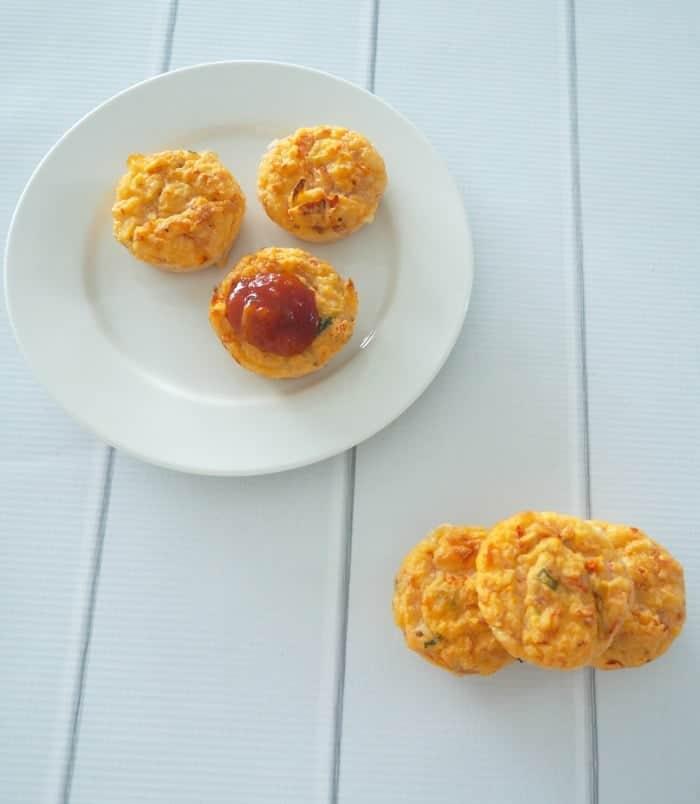 Thermomix Ham Cheese and Tomato Muffins