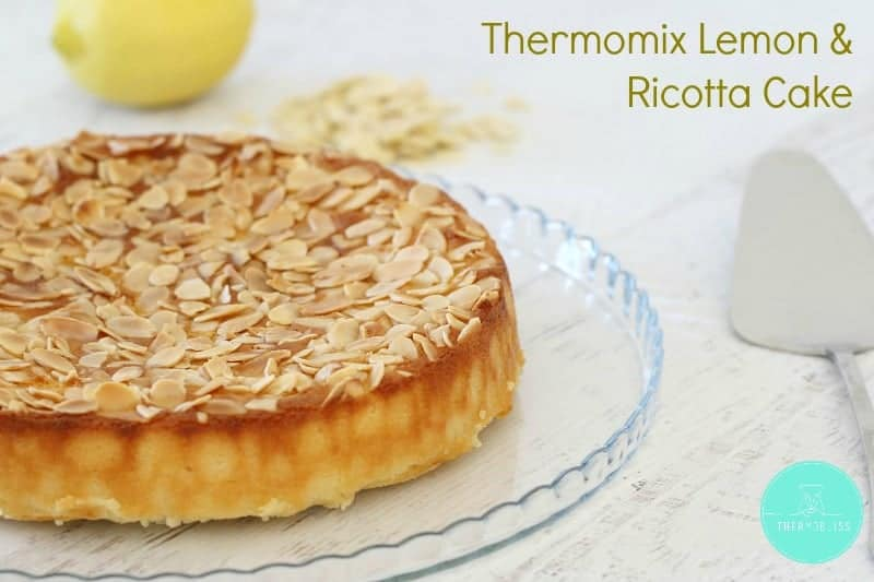 Thermomix Lemon & Ricotta Cake