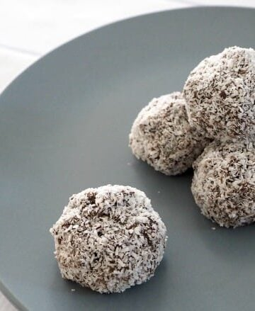 Chocolate Peppermint Balls Thermomix