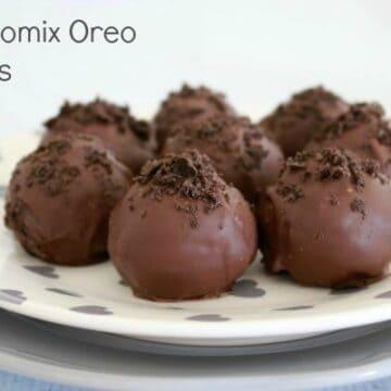 Thermomix Oreo Truffles