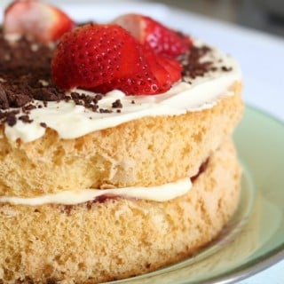 Thermomix Sponge Cake With Jam & Cream