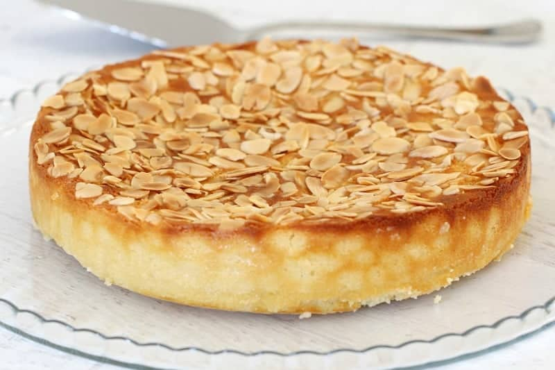 Almond Lemon Ricotta Cake Recipe