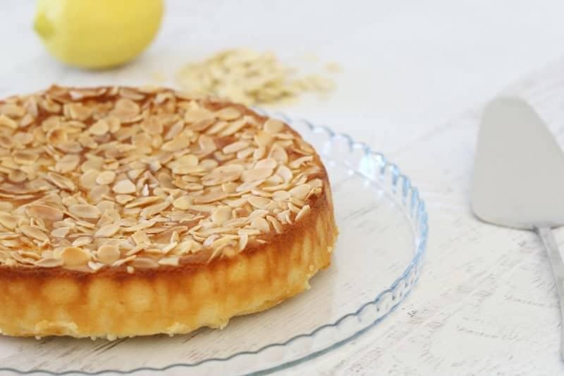 Lemon Ricotta Almond Cake Thermomix