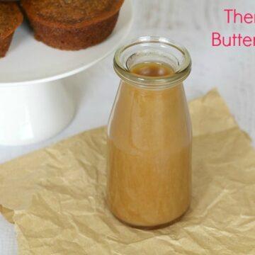 Thermomix Butterscotch Sauce