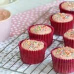Thermomix Strawberry Frosting (Naturally Coloured)