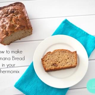 Easy Thermomix Banana Bread