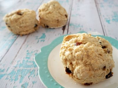 Easy Thermomix Date Scones