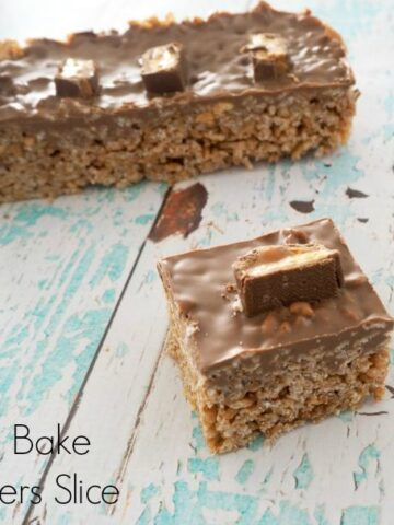 Thermomix Snickers Slice