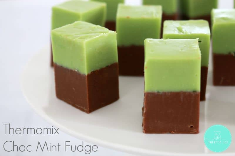 Thermomix Choc Mint Fudge