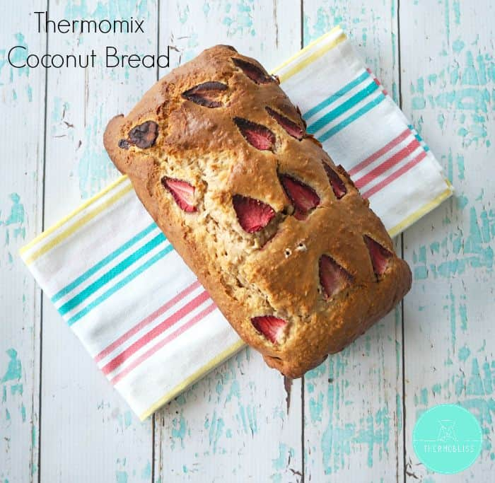 Thermomix Coconut Bread Recipe