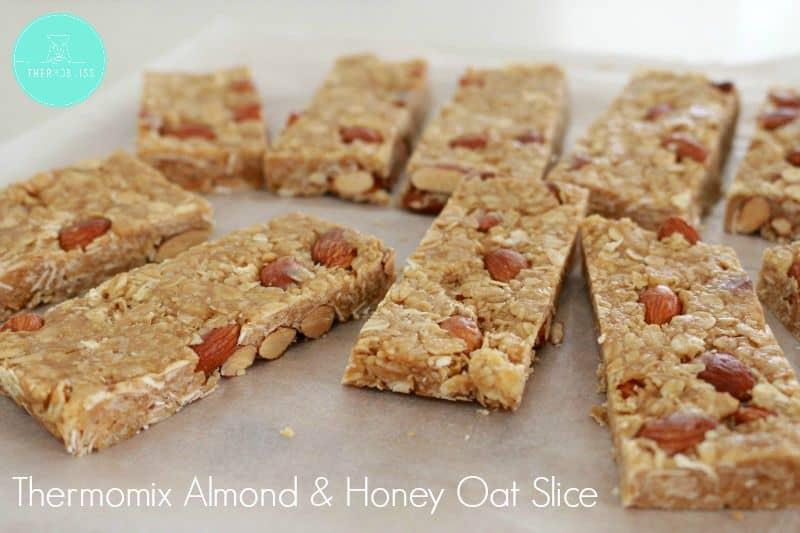 Thermomix Honey & Oat Slice