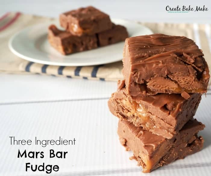 Mars Bar Fudge