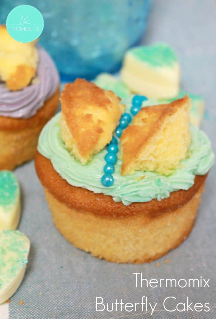 Thermomix Butterfly Cakes