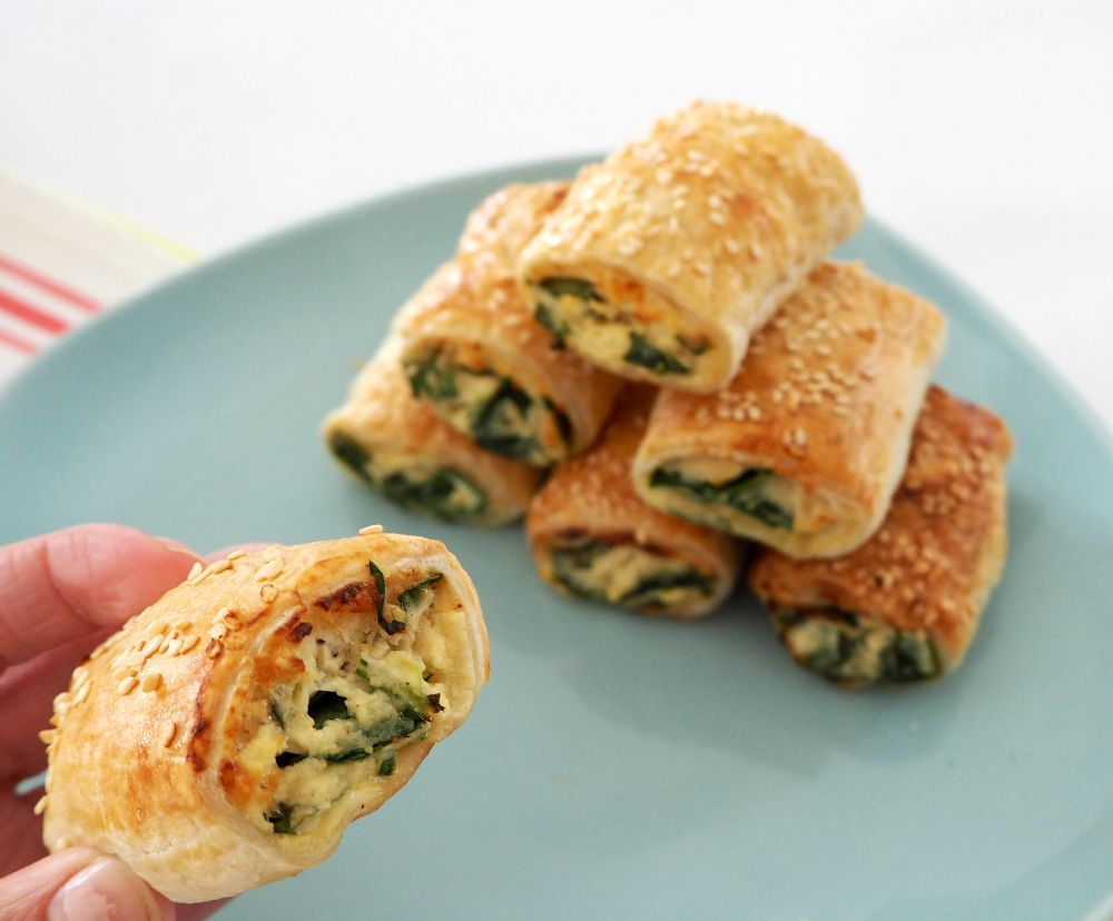 Thermomix Spinach And Ricotta Rolls Thermobliss