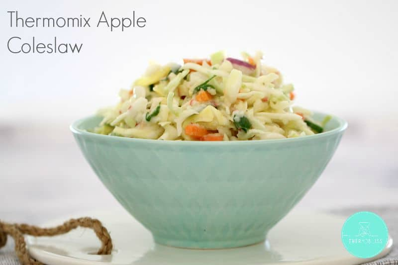 Thermomix Apple Coleslaw