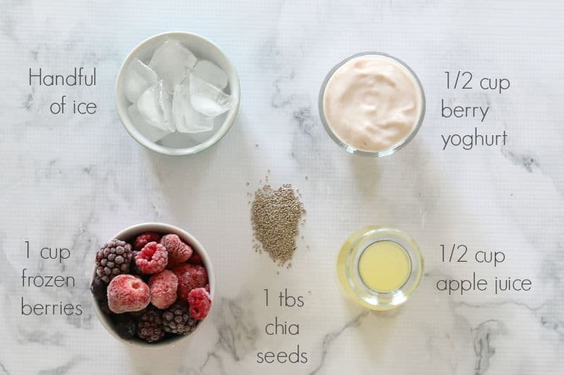 Thermomix Berry & Chia Smoothie