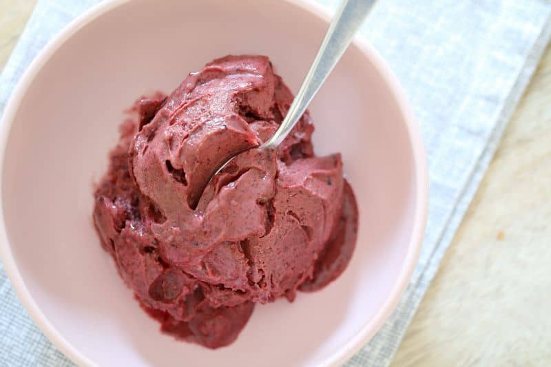 Thermomix Choc-Berry Nice-Cream