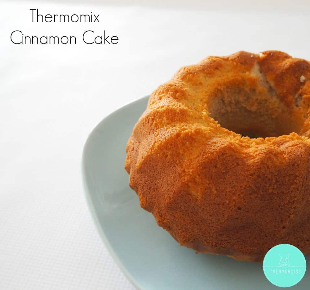 Apple And Cinnamon Tea Cake Thermomix