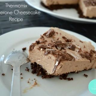 Thermomix Toblerone Cheesecake Recipe