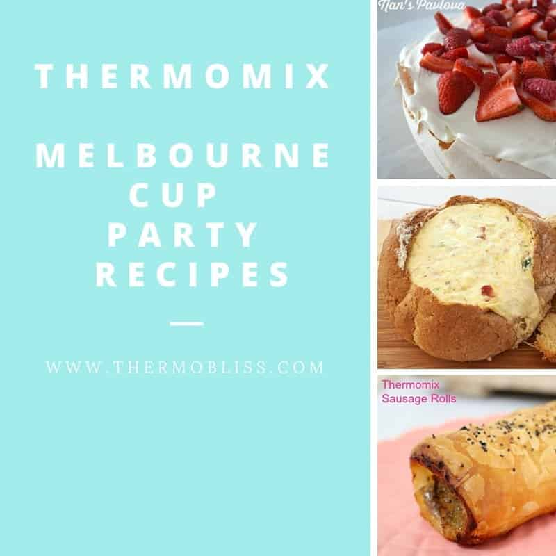 Thermomix Melbourne Cup Day Recipes