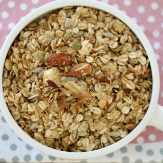 Thermomix Nut & Seed Toasted Muesli