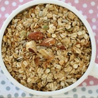 Thermomix Nut & Seed Toasted Muesli