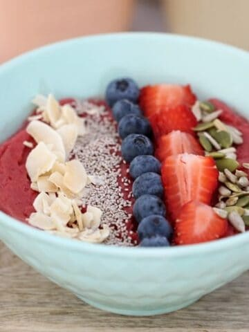 Healthy Thermomix Acai Bowl