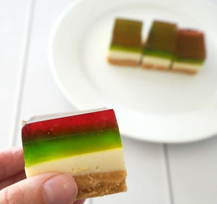 Thermomix Festive Jelly Slice