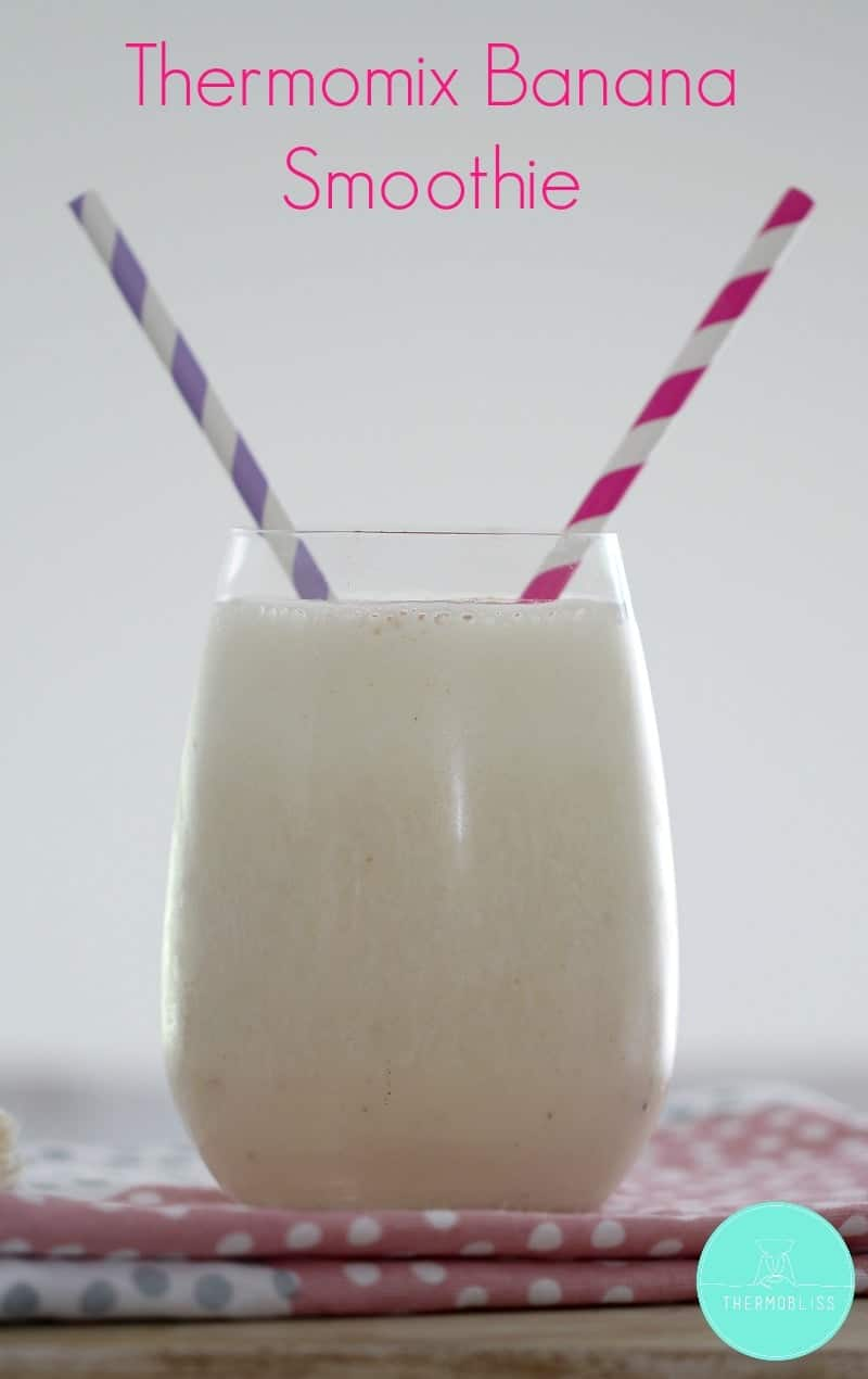 Thermomix Banana Smoothie