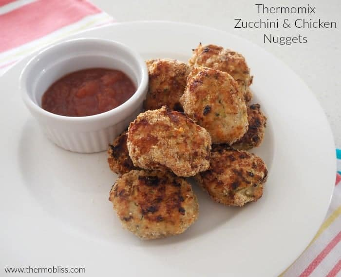 Thermomix Chicken and Zucchini Nuggets