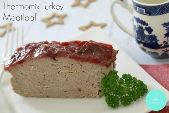 Thermomix Turkey & Cranberry Meatloaf