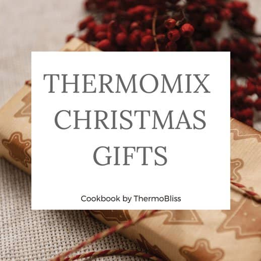 Thermomix Cookbook Christmas Gifts Recipes