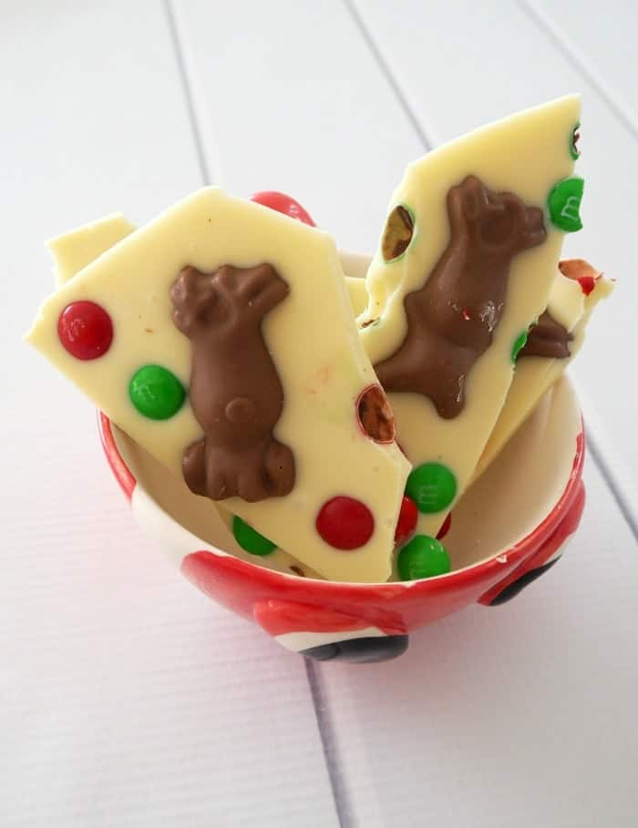 Thermomix White Chocolate and Maltesers Christmas Bark