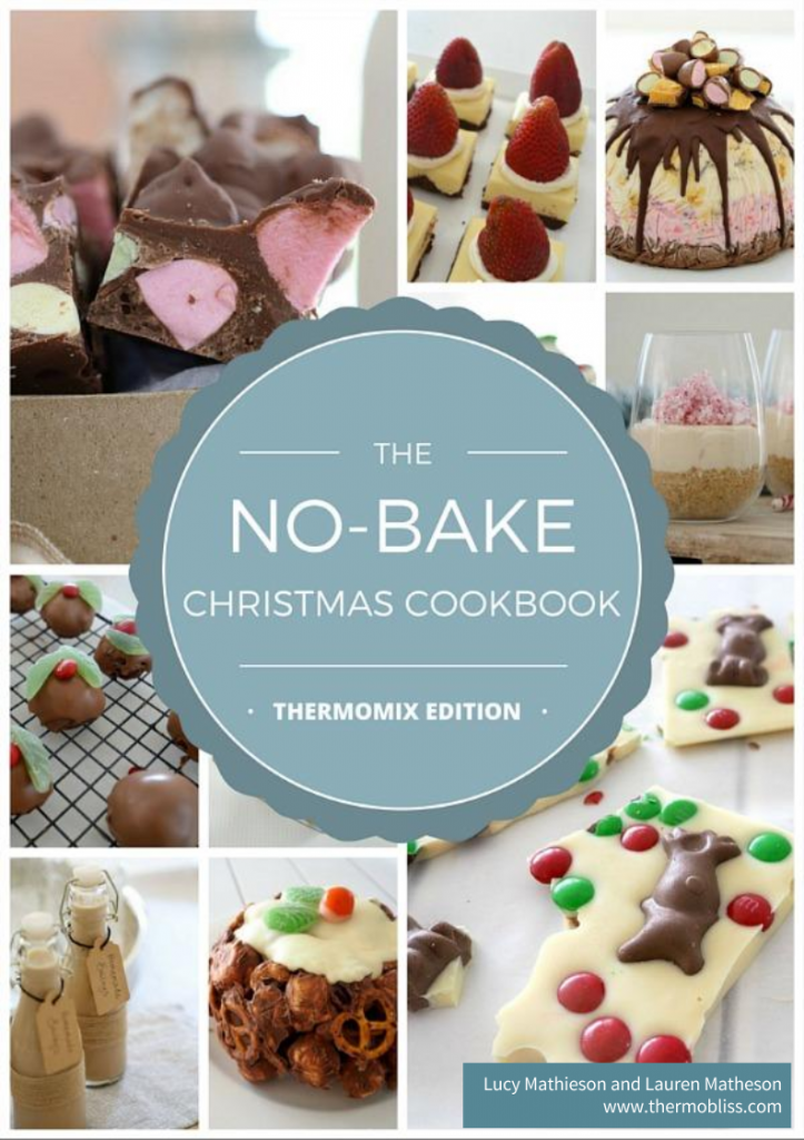 Thermomix No Bake Christmas Front Cover