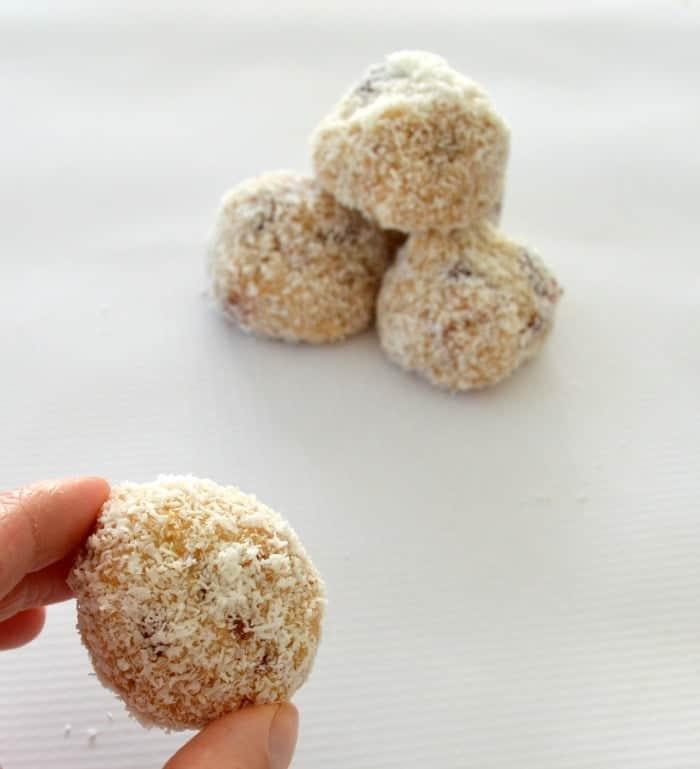 White Chocolate and Cherry Balls 2