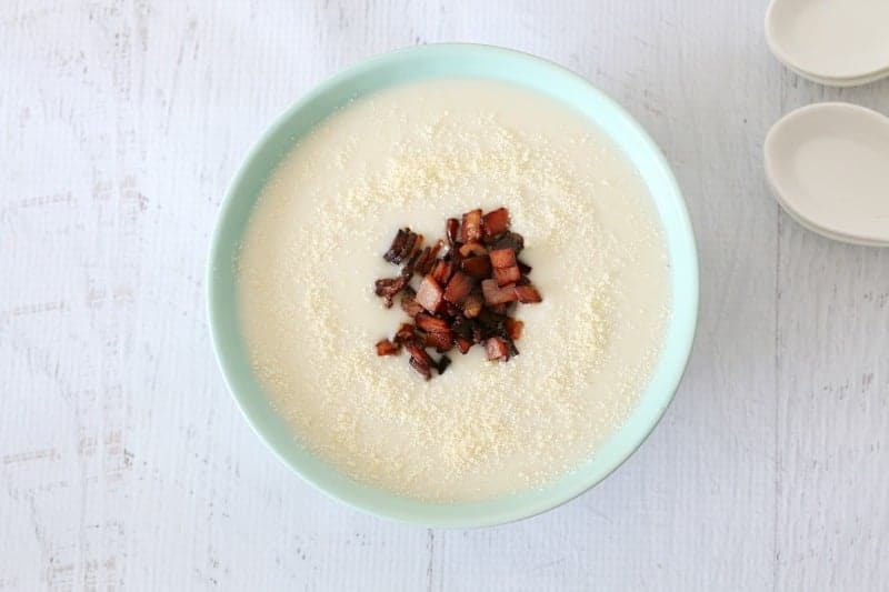 Thermomix Cauliflower Soup