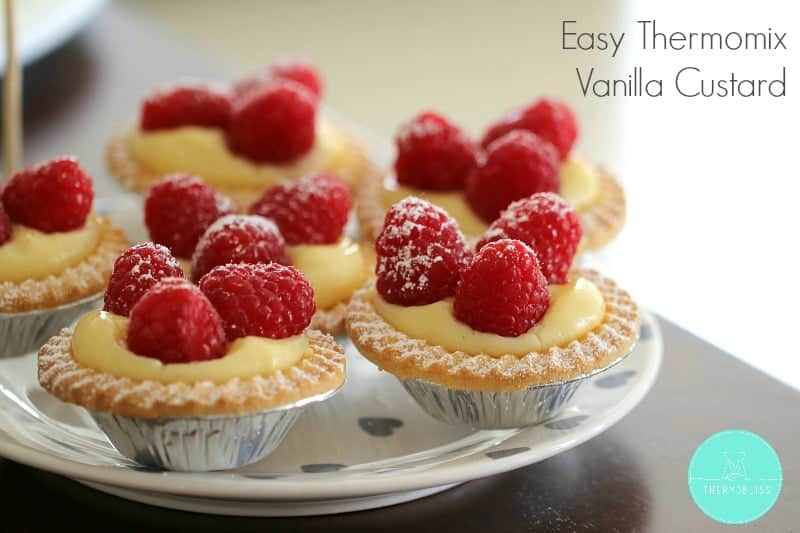 Easy Thermomix Vanilla Custard