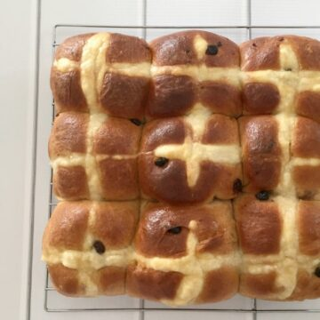 Thermomix Hot Cross Buns Recipe