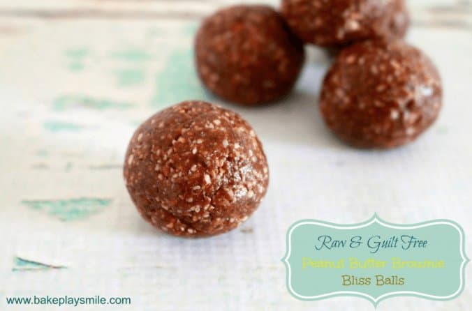 Raw Peanut Butter Balls