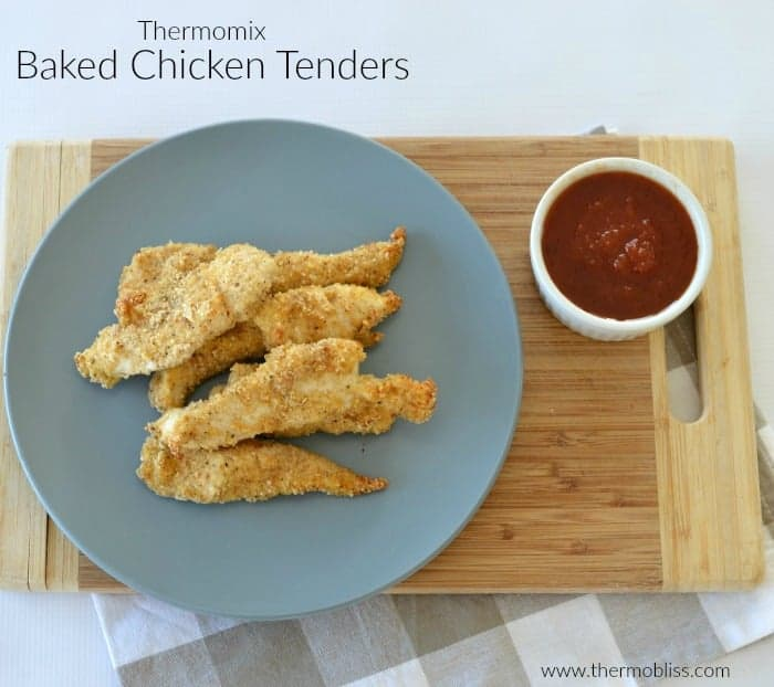 Thermomix Baked Chicken Tenders