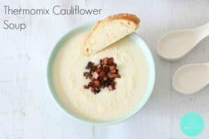 Thermomix Cauliflower Soup